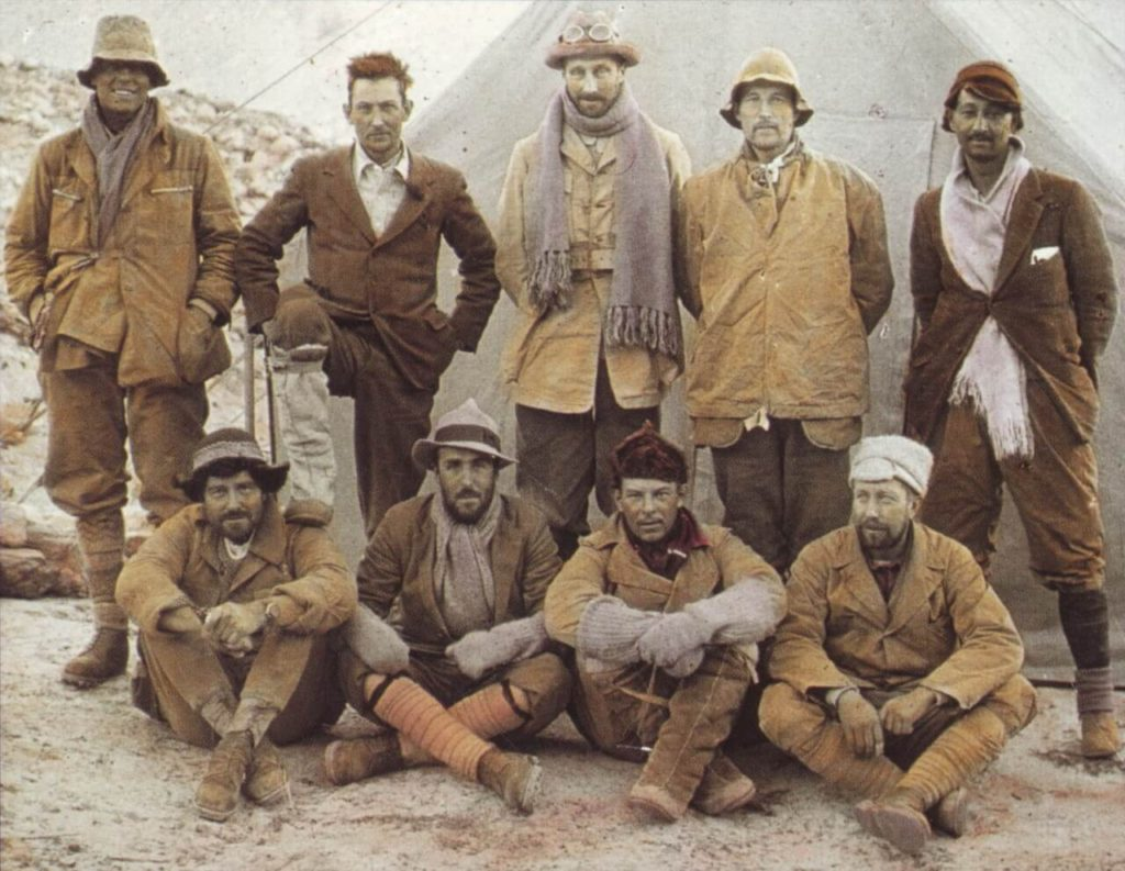 The 1924 British expedition to Mount Everest