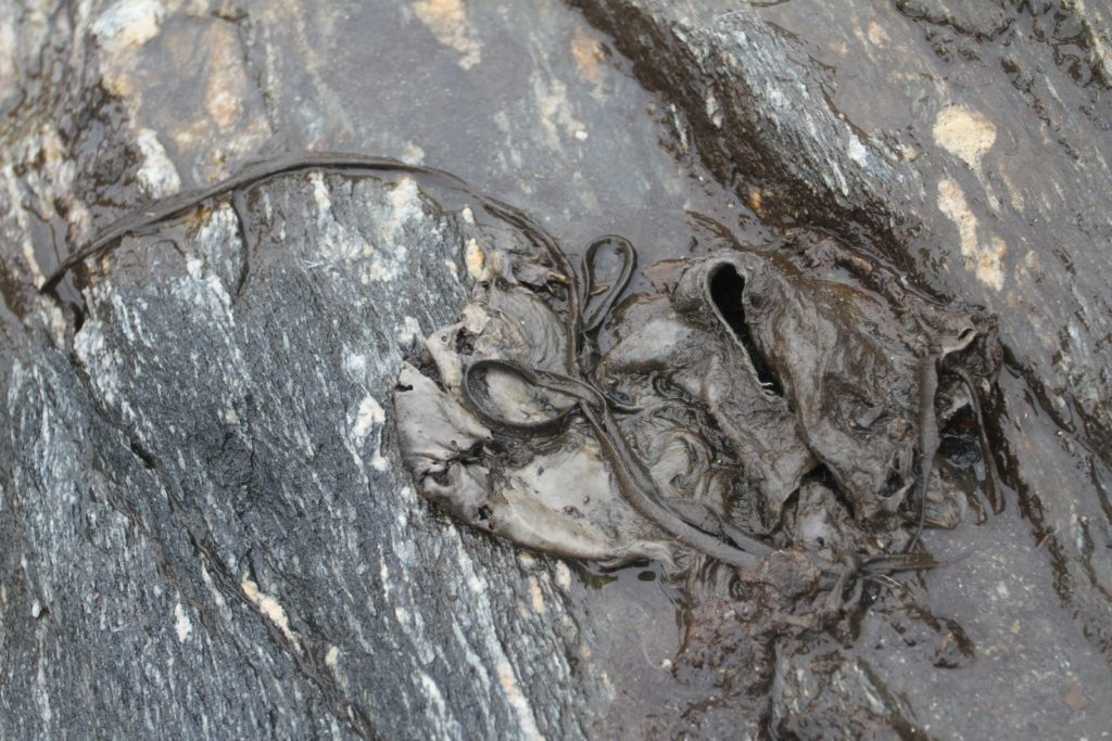 Bekledning - en hudsko fra vikingtid, funnet på Lendbreen