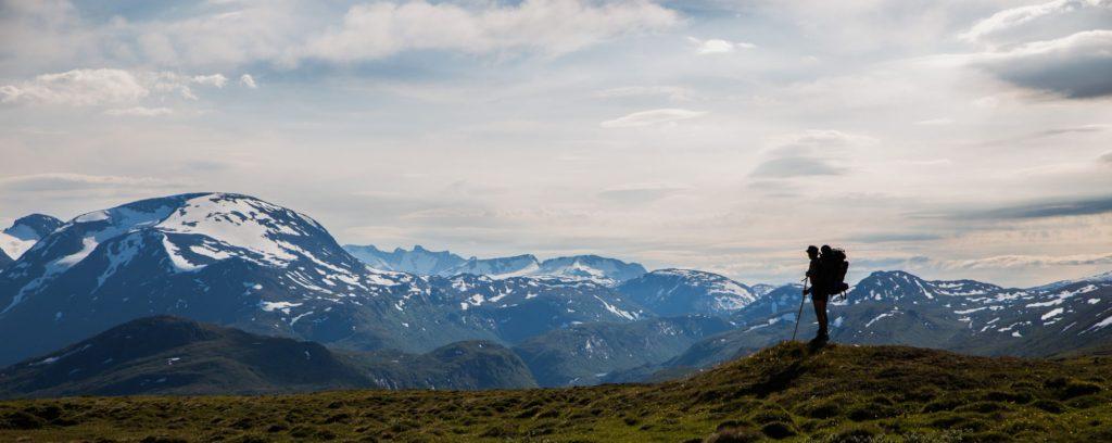 Reidar in his beloved mountains.