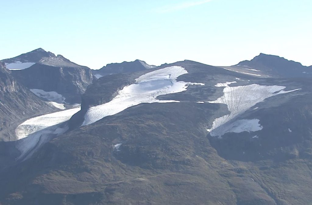 Glaciers and ice patches