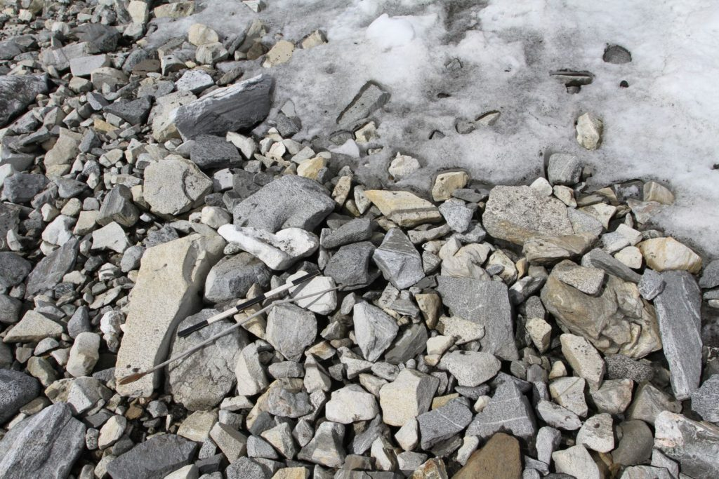 Glacial archaeology and climate science denial