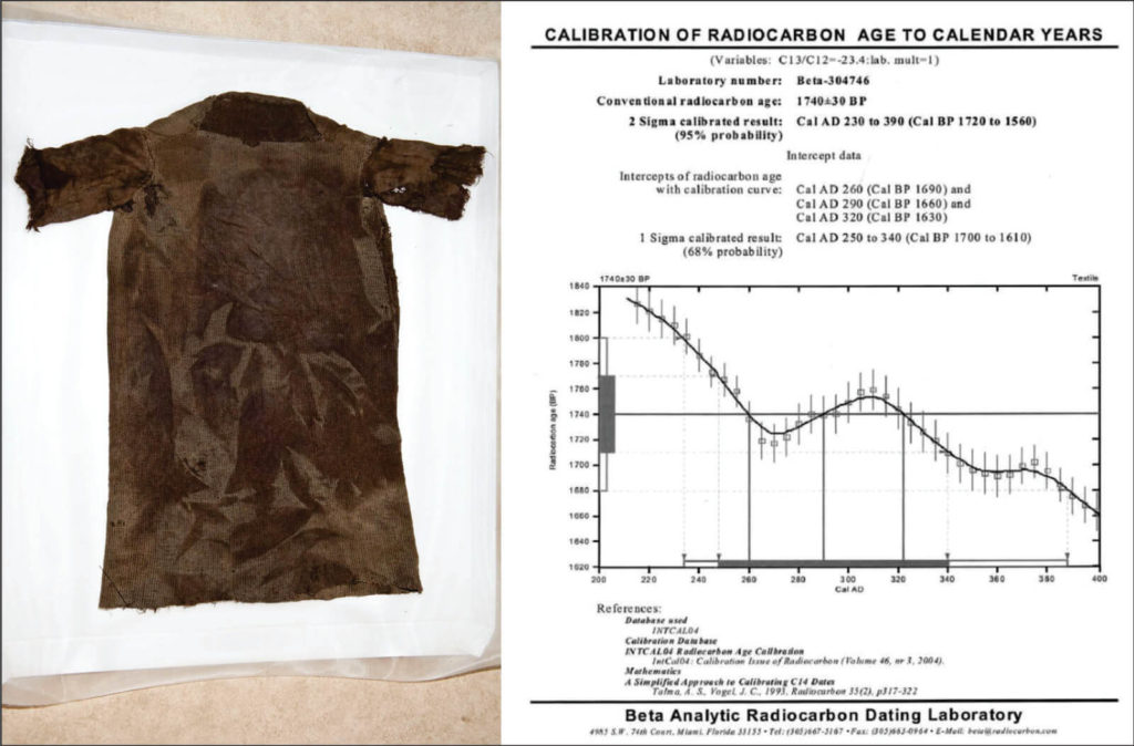 The Iron Age tunic from Lendbreen