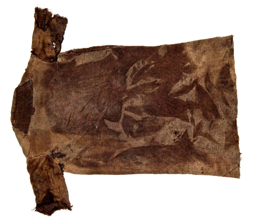 Iron Age tunic, dated by radio-carbon to c. AD 300